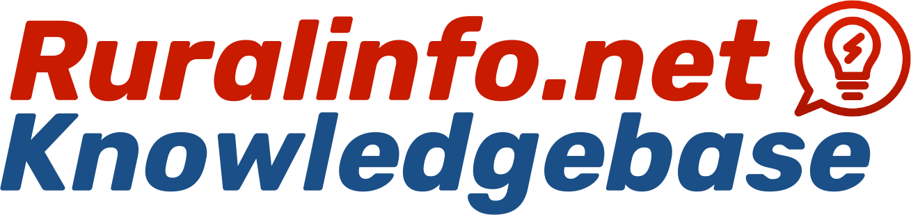 Ruralinfo.net Knowledgebase